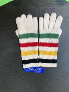 NEW with tags Women's Pendleton Gloves 100% Merino Wool One Size National Park