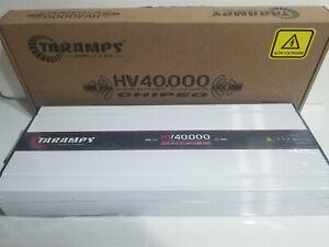 TARAMPS HV40000 40K HIGH VOLTAGE Amplifier 40.000 watt Class D 1 channel .5 OHM