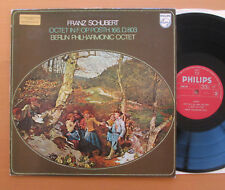 SAL 6500 269 Schubert Octet in F Op. 166 Berlin Philharmonic Octet 1971 NM/VG