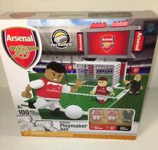 ARSENAL FC Playmaker Collector Set 100 Pieces England Soccer Building Toy Figure