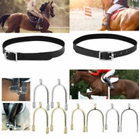 High Quality Horse Riding Accessories Handmade Genuine Leather Spur Strap