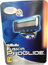 Gillette Fusion Proglide Manual Razor Blades GENUINE GILLETTE Pack of 14