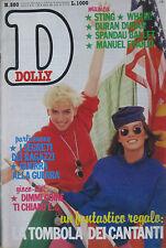 Dolly 380 1986 Sting Manuel FRANJO Anthony WHAM DURAN DURAN SPANDAU BALLET fish