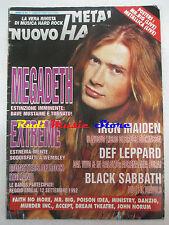 rivista NUOVO METAL HAMMER 7/1992 + POSTER Motorhead Megadeth Extreme No cd