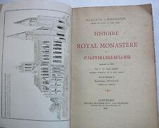 Histoire du Royal Monastère de Saint Jacut de l.Isle de la Mer.LEMASSON.E.O.1912