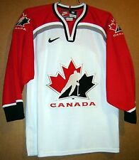 Team Canada No #s Hockey Nike Size Medium Red & White Jersey