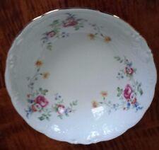 "WAV6 by Wawel 9"" Round Vegetable/Pasta Bowl MultiColor Florals Embossed *Mint*"