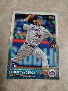 2015 Topps Update NOAH SYNDERGAARD Rookie #US157 New York Mets RC