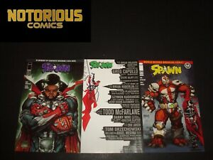 Spawn 311 312 313 Complete Comic Lot Run Set Image McFarlane Collection Cover B