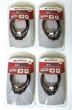 "4x Phiten Baseball MLB Cincinnati Reds X30 Titanium Necklace Size 18"""