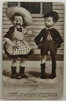 Comic Romance Postcard Only Girl I Ever Loved But… Antique 1907