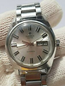 TISSOT WATCH T-12 AUTOMATIC CAL:794 DAY DATE 46558 MENS 35.5mm SWISS.SERVICED