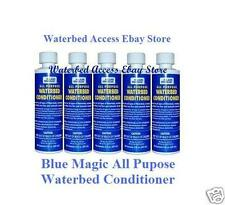 BLUE MAGIC All Purpose Waterbed Conditioner 5 Bottles 1800 205 8003