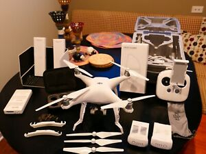 DJI Phantom 4 Drone - Mint Condition with Lots of Accessories