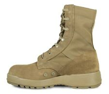 Mil-Spec Hot Weather Coyote Boot w/ Vibram Sierra Outsole 15.5 XW in Desert Tan