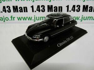 PR15 voiture1/43 norev présidentielle : CITROËN DS 23 V. Giscard d'Estaing 1974