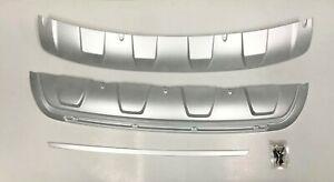 Front & Rear Bumper DIFFUSER Pad Cover 2p For 2013 2014 Kia Sorento