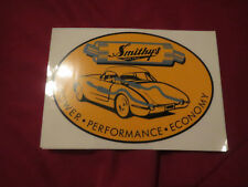 SMITHYS POWER PERFORMANCE ECONOMY EXHAUST MUFFLERS VINTAGE LOGO DECAL STICKER 5""