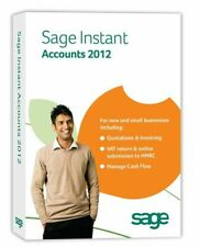 Sage Instant Accounts 2012 With Planning Software