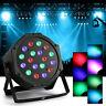 RGB Par Stage Lighting 18-LED DMX-512 Party DJ Disco KTV XMAS Projector Light