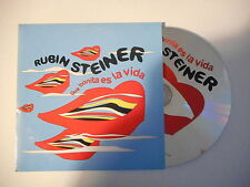 RUBIN STEINER : QUE BONITA ES LA VIDA [ CD SINGLE PORT GRATUIT ]