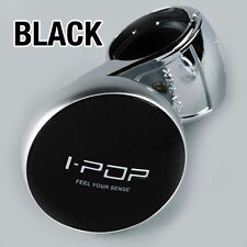 I-POP Black Car Steering Wheel Suicide Spinner Knob 1P For All Vehicle