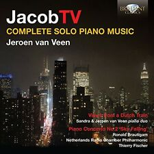 Ter Veldhuis / Van V - Complete Solo Piano Music [New CD]