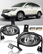 2010-2011 Honda CR-V CRV CLEAR LENS BUMPER FOG LIGHTS LAMPS COMPLETE KIT LH+RH