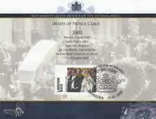 Vel Royalty Beatrix 70 Jaar 2008 - Overlijden van Prins Claus 2002 (vel048)
