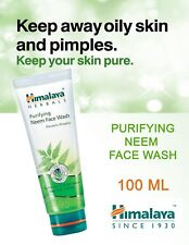 Himalaya Herbal Purifying Neem Face Wash 100ml Prevents Pimple Acne Healthy Skin