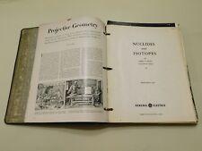 VINTAGE 1950's-60's SCIENTIFIC~CHEMISTRY, POLITICS, ECONOMICS, BIOLOGY SCRAPBOOK