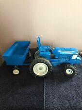 Ertl 1:16 Scale Ford 7710 Die Cast Metal Tractor & Trailer