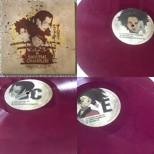Samurai Champloo Nujabes Way of the PURPLE Marble Vinyl LTD 3LP Record Anime OST