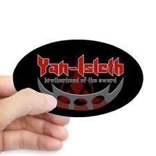 Star Trek Klingon Oval Sticker, Yan Isleth Brotherhood