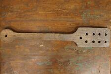 Antique Wooden Primitive Paddle Butter Wash Other