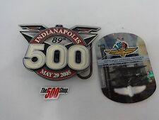 2005 Indianapolis 500 Event Belt Buckle Limited Edition 41 of 500 Dan Wheldon