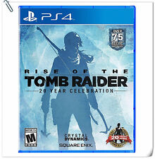 PS4 Rise of the Tomb Raider 20 Year ENG / 古墓奇兵 中文 SONY Action Games Square Enix