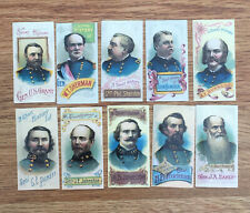 More details for vintage collectors cards generals of the american civil war 1996 1-10. repro