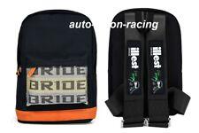JDM Bride Racing Backpack With ILLEST BRIDE Racing Harness Shoulder Black straps