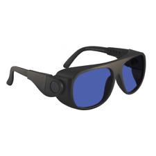 BoroTruView Shade #3 Glassworking Safety Glasses - 62-19-Adj - Plasic Black