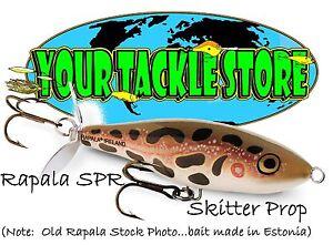 Rapala SPR07 Skitter Prop Pick Colors & Quantity NIP