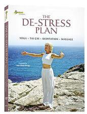 THE DE-STRESS PLAN (Yoga, Tai Chi, Meditation, Massage) DVD [B750-751]