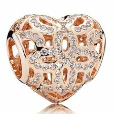 PANDORA Rose Charm Spitzen-herz 780003CZ