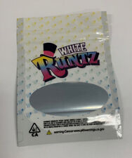 NEW RUNTZ Mylar Resealable 3.5g Packaging ONLY Free Shipping 100 Count