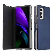 Samsung Galaxy Z FOLD 2 Handmade Leather PC Framed Flip Case Cover Araree Korea