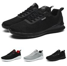 Mens Leisure Sneakers Shoes Outdoor Running Sports Gym Trainer Jogging Casual B