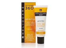 4x HELIOCARE 360 OIL FREE GEL SPF50+  50ml Aestheticare Sunscreen TOTAL 200ml