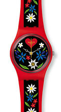 "SWATCH ORIGINALS LADY ""ROETLI - Gruezi All 2016"" (LR129) NEUWARE"
