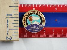 HOT AIR BALLOON PIN COLORADO BALLOON CLUB PRESIDENTS