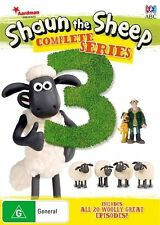Shaun The Sheep : Season 3 (DVD, 2016) R4 New, ExRetail Stock (D161)